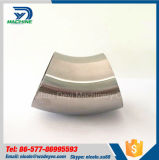 Coude sanitaire de soudure de 45 degrés d'acier inoxydable