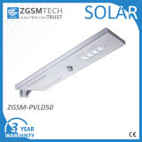 50W Luminária LED Solar com Sensor Infravermelho para Jardim