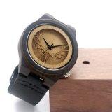 Relógio de forma de madeira Bg429 do movimento novo de Japão da proteção ambiental