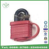 la placcatura dello zinco della prova dell'acqua di 40mm ha laminato il lucchetto d'acciaio con il coperchio termoplastico (740WP)
