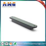 Voz pasiva impermeable de la etiqueta de la frecuencia ultraelevada RFID con el pegamento de los 3m/el orificio del tornillo