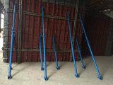 Регулируемые трубчатые стальные леса упорки Shoring для конструкции