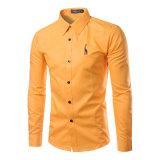 De Modieuze Overhemden 100%Polyester van hete Mensen (A430)