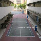 Fornitore sintetico della pavimentazione della corte di volano di buona qualità