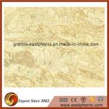 Telha de mármore bege importada do revestimento/parede