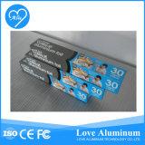Papel laminado de folha de alumínio para embalagem de manteiga