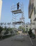 Aluminium d'échafaudage de la CE de GV pour la construction