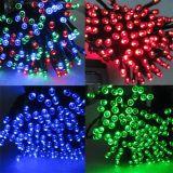 Corda feericamente solar do Natal do diodo emissor de luz com tamanhos diferentes