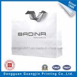 Выполненная на заказ белая хозяйственная сумка бумаги Kraft с ручкой тесемки