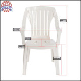Silla de jardín plástica de la silla que cena la silla al aire libre del plástico de la silla de la silla