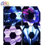 Heiß! ! ! Farbenreiches /RGB P6 LED Panel des Innenvideodarstellung-Hexagon-Entwurfs-