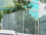 Cerca galvanizada de Fortaleza que ralla para la seguridad