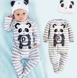 2016 Bodysuits animais do bebê da luva longa na roupa dos Rompers das crianças