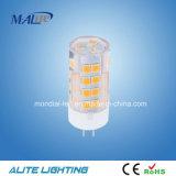 La meilleure lampe la plus lumineuse G9 4W de lumière d'ampoule de 230 volts LED
