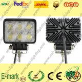 12V lumière de travail de C.C LED, lumière de travail de 6PCS*3W Epsitar LED, tache/lumière travail de Foold LED pour des camions