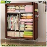 조립하십시오 Style Moistureproof Dustproof Cloth Wardrobe (침실 가구를 위한 WS16-0088,)를