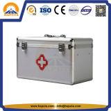 Les premiers soins imperméables à l'eau enferment la caisse médicale Emergency en aluminium (HMC-1009)