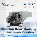 Carcaça 4-Axis Workholding hidráulico da engrenagem de direção