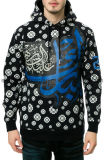 Algodão Custom Printed Men Pullover Hoodies (ELTHSJ-309)