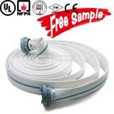 Preço dobro de alta pressão da mangueira da água do incêndio do revestimento do PVC de 2 polegadas