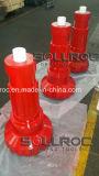 Bit de tecla elevado da pressão de ar Numa120-305mm DTH para a perfuração de rocha