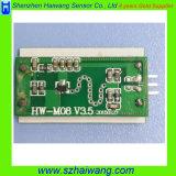 PWB do detetor de movimento da micrôonda da distância 6-24V de 1m