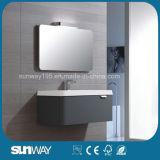 An der Wand befestigte moderne europäische Entwurfs-Badezimmer-Eitelkeit mit Spiegel-Schrank