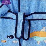 Haifisch Pttn Babys Booties und Bath Robe (DPFT80131)