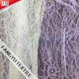Tessuto di nylon del merletto di Eastic di modo per il vestito