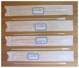 男性の使用のための綿棒の見本抽出