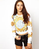 Custom all'ingrosso Crop Sweatshirts per Women (ELTHSJ-863)