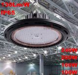 Factorie 작업장 창고 전시실 경기장 조선소 광산 주유소 슈퍼마켓 160W 150W Dimmalbe LED 높은 만 점화