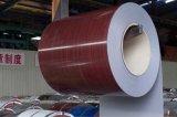 Cor revestido galvanizado / Aço Galvalume na bobina / folha (RAL padrão)