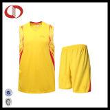 女の子のためのカスタム新しいパターン印刷のバスケットボールのユニフォーム