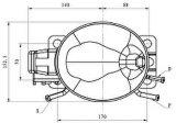 De Compressor van de Ijskast R600A van de Reeks Ukt60yax van het gewicht