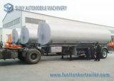 2 de Aanhangwagen van de Tanker van de Brandstof van het Vloeistaal van de as 35000 Liter van de Aanhangwagen van de Tankwagen