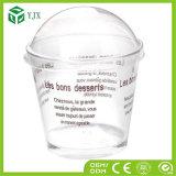 Disponibles modificada para requisitos particulares quitan la taza del plástico del envase del helado del yogur