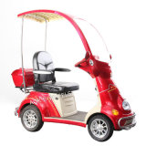 500W confiable de cuatro ruedas Electric Scooter con discapacidad con cubierta de lluvia (ES-029A)