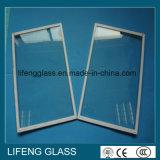 Het hete Aangemaakte Glas van de Aanbieding Ijskast met Rond gemaakte Rand