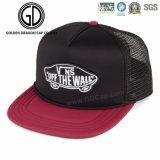 Chapéu simples novo do Snapback do preto da alta qualidade da forma com bordado tecido do emblema