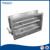 Round d'acciaio Manually Operated Volume Control Damper per Duct