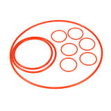 Оптовые кольца запечатывания колцеобразного уплотнения силиконовой резины сделанные в Китае
