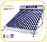 Calentador de agua solar a presión nuevo diseño 2016 (EN12976)
