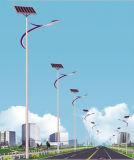 lâmpadas de rua solares do diodo emissor de luz de 7m Pólo 42W a Kenya