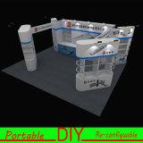 Projeto reusável modular portátil personalizado do carrinho da cabine da exposição