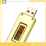 Design最も新しいLuxury 8GB Bulk Golden Metal USB Stick