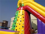2016 горячее Sport Rock Climbing Wall Inflatable Slide для Sale