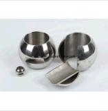Femelle d'acier inoxydable/mini robinet à tournant sphérique amorçage mâle