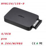 4/8CH 1 SATAスマートなボックス4poe P2pネットワークビデオレコーダー{NVR104/108-P}