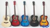 Китай цвета размера 36 и 38 дюймов гитара малого акустическая